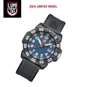 安心2年保証 LUMINOX ルミノックス 25周年 限定モデル 腕時計 3053.25th  メンズ腕時計 3050シリーズ ブルー 青 3051 around