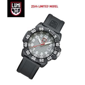 安心2年保証 LUMINOX ルミノックス 25周年 限定モデル 腕時計 3057.25th  メンズ腕時計 3050シリーズ シルバーグレー 3051 around