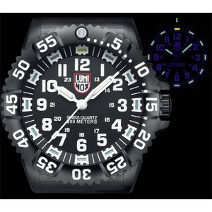 LUNINOX ルミノックス BIG40 Wall Clock ウォールクロック 掛け時計 BIG.40 壁掛け時計 大型 静音 LED 激レア around