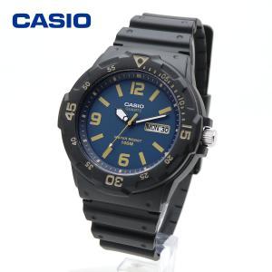 CASIO カシオ MRW-200H-2B3V ネイビー ブラック ダイバールック シンプル スタンダード アナログ ウォッチ 腕時計  防水 軽量|around