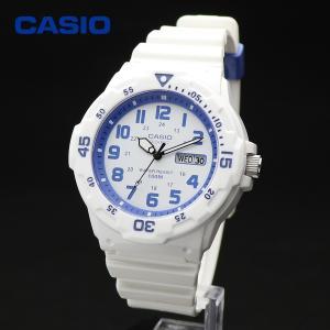 CASIO MRW-200HC-7B2V カシオ ホワイト ブルー ダイバールック シンプル スタンダード アナログ ウォッチ|around