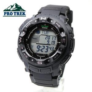 【安心2年保証】海でも山でも大活躍!!CASIO カシオ 電波 ソーラー PROTREK プロトレック 腕時計 PRW-2500-1A ブラック デジタル|around