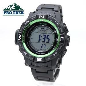 【安心二年保証・サイズ調整無料】CASIO PROTREK PRW-3510FC-1 カシオ プロトレック 登山用 腕時計 ブラック グリーン デジタル 安心2年保証|around