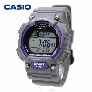タフソーラー CASIO ラップ・スプリットメモリー ランニング ジョギング スポーツウォッチ デジタル ランニングウォッチ ソーラー 腕時計 カシオ STL-S100H-8AV|around