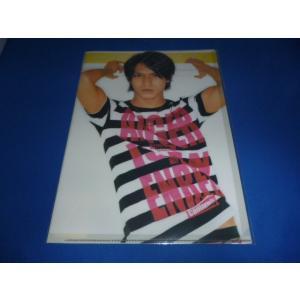 錦戸亮(関ジャニ∞)クリアファイル/LIVE TOUR 2008 arraysbook