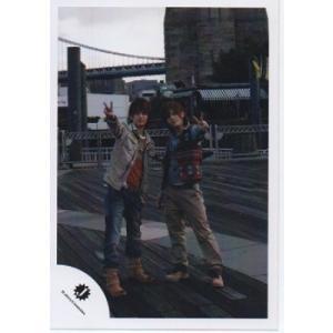山田涼介&中山優馬[NYC] 公式生写真/カメラ目線・ピース・Jロゴ|arraysbook
