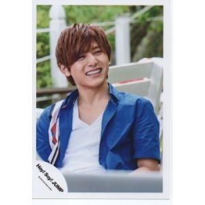 山田涼介(Hey!Say!JUMP) 公式生写真/キラキラ光れ・衣装青×白×赤・笑顔|arraysbook