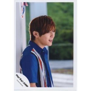 山田涼介(Hey!Say!JUMP) 公式生写真/キラキラ光れ・衣装青×白×赤・口開け|arraysbook