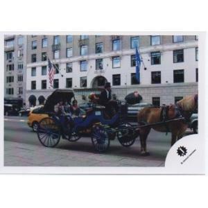 山田涼介&知念侑李&中山優馬[NYC] 公式生写真/Jロゴ・馬車乗り|arraysbook