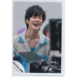 中島裕翔(Hey!Say!JUMP) 公式生写真/Chau#・衣装水色×白・口開け|arraysbook
