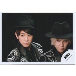 手越祐也&小山慶一郎(NEWS) 公式生写真/四銃士・衣装黒×銀・帽子|arraysbook