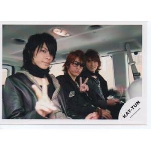 亀梨和也&上田竜也ほか(KAT-TUN) 公式生写真/カメラ目線・2人ピース arraysbook