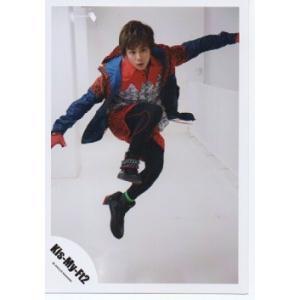 北山宏光(Kis-My-Ft2/キスマイ) 公式生写真/Goodいくぜ!2013・衣装青×赤×黒・ジャンプ|arraysbook