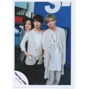 有岡大貴&岡本圭人&薮宏太(Hey!Say!JUMP) 公式生写真/OVER THE TOP・カメラ目線|arraysbook