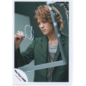 岡本圭人(Hey!Say!JUMP) 公式生写真/DEAR.・衣装緑×グレー・右手ペン持ち|arraysbook