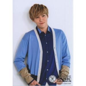 千賀健永(Kis-My-Ft2/キスマイ) 公式生写真/MUSIC COLOSSEUM・衣装水色×青×白×ベージュ|arraysbook