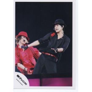 大倉忠義&錦戸亮(関ジャニ∞) 公式生写真/ライブ・torn衣装・背景黒・帽子|arraysbook