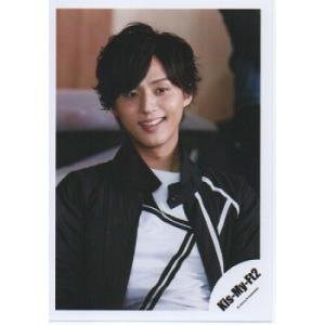 藤ヶ谷太輔(Kis-My-Ft2/キスマイ) 公式生写真/PICK IT UP・衣装黒×白・目線若干右方向 arraysbook