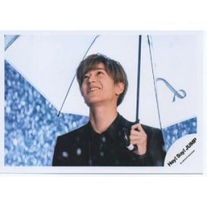 中島裕翔(Hey!Say!JUMP) 公式生写真/White Love・衣装黒・目線若干上方向・傘持ち|arraysbook