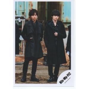 藤ヶ谷太輔&玉森裕太(Kis-My-Ft2/キスマイ) 公式生写真/MUSIC COLOSSEUM・衣装黒・全身|arraysbook
