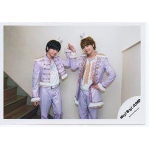 知念侑李&有岡大貴(Hey!Say!JUMP) 公式生写真/chau#・衣装紫×白・カメラ目線|arraysbook