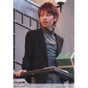 中丸雄一(KAT-TUN) 公式生写真/2008年・衣装黒×白・目線左方向 arraysbook
