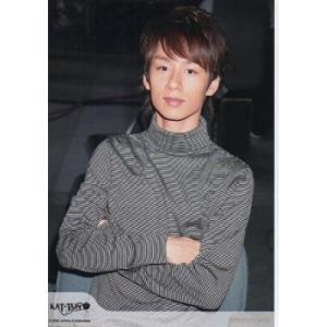 中丸雄一(KAT-TUN) 公式生写真/2008年・衣装黒×白・腕組み・カメラ目線 arraysbook