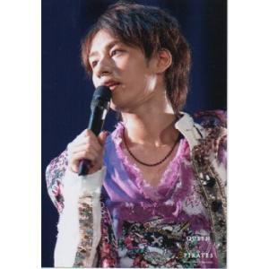 中丸雄一(KAT-TUN) 公式生写真/QUEEN PIRATES 2008年・衣装紫×金×白×黒×ピンク・マイク持ち arraysbook