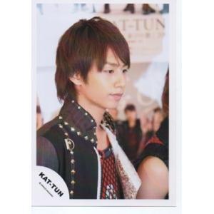 中丸雄一(KAT-TUN) 公式生写真/衣装黒×赤・口閉じ・目線右方向 arraysbook