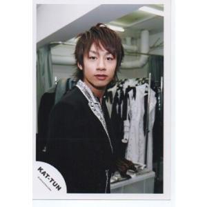 中丸雄一(KAT-TUN) 公式生写真/衣装黒×銀・口閉じ・カメラ目線 arraysbook