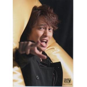 丸山隆平(関ジャニ∞) 公式生写真/LIVE TOUR 2008・衣装黒・カメラ目線・口開け|arraysbook