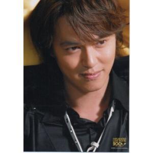 丸山隆平(関ジャニ∞) 公式生写真/LIVE TOUR 2008・衣装黒・目線若干右・口閉じ|arraysbook