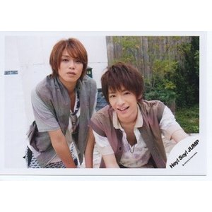 知念侑李&高木雄也(Hey!Say!JUMP) 公式生写真/WORLD TOUR in JAPAN 2012・カメラ目線・知念口開け arraysbook