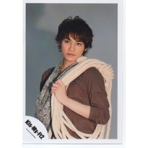 二階堂高嗣(Kis-My-Ft2/キスマイ) 公式生写真/Kis-My-Journey・衣装茶色×黒×白・口閉じ|arraysbook