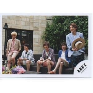 A.B.C-Z 集合 公式生写真/Summer Paradise in TDC・真ん中橋本・3人座り|arraysbook