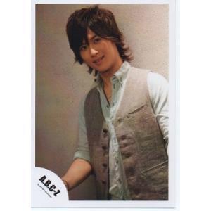 橋本良亮(A.B.C-Z)公式生写真/5stars 2012・衣装水色×グレー・カメラ目線・背景グレー|arraysbook