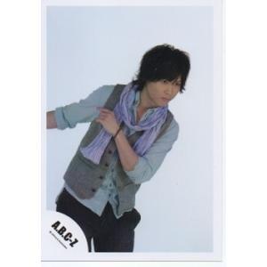 橋本良亮(A.B.C-Z)公式生写真/5stars 2012・衣装水色×グレー・目線右方向・背景白|arraysbook