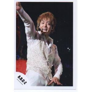 塚田僚一(A.B.C-Z)公式生写真/衣装白×銀・口開け・カメラ目線 arraysbook
