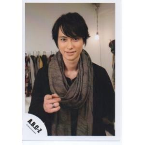 戸塚祥太(A.B.C-Z)公式生写真/ジャニーズワールド 2013-2014・衣装黒・ストール・カメラ目線・指輪|arraysbook
