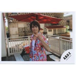戸塚祥太(A.B.C-Z)公式生写真/ハワイ・衣装アロハシャツ・カメラ目線・親指小指立て|arraysbook