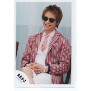 戸塚祥太(A.B.C-Z)公式生写真/Early summer concert 2015・衣装赤×白×黒・サングラス|arraysbook