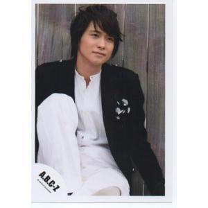戸塚祥太(A.B.C-Z)公式生写真/衣装黒×白・口閉じ・目線右方向|arraysbook