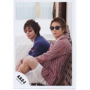 河合郁人&戸塚祥太(A.B.C-Z)公式生写真/Early summer concert 2015・サングラス・口閉じ|arraysbook