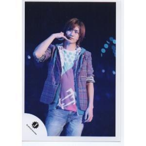 宮田俊哉(Kis-My-Ft2/キスマイ) 公式生写真/衣装紫×水色×白・Jロゴ・目線若干左|arraysbook