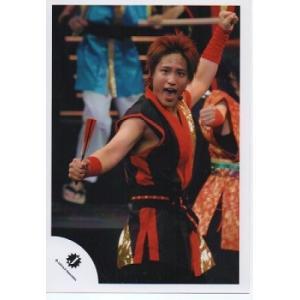 桐山照史(ジャニーズWEST) 公式生写真/衣装赤×金×黒・口開け・Jロゴ・目線若干左方向|arraysbook