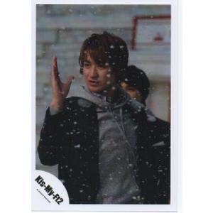 宮田俊哉(Kis-My-Ft2/キスマイ) 公式生写真/SNOW DOMEの約束・衣装黒×グレー・目線左方向|arraysbook