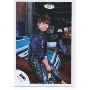 小山慶一郎(NEWS) 公式生写真/EMMA・衣装青×茶色・カメラ目線・口閉じ|arraysbook