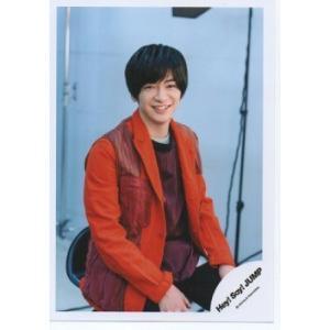 知念侑李(Hey!Say!JUMP) 公式生写真/SENSE or LOVE・衣装オレンジ×赤×黒・カメラ目線 arraysbook