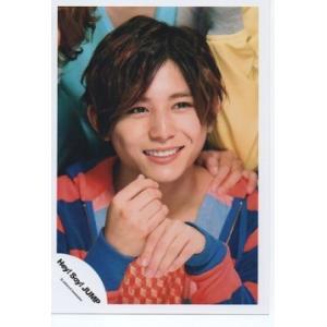 山田涼介(Hey!Say!JUMP) 公式生写真/ウィークエンダー・衣装赤×青・歯見せ|arraysbook