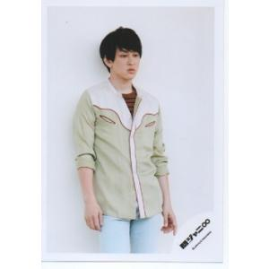 横山裕(関ジャニ∞) 公式生写真/ジャム・衣装白×茶色×淡い黄緑・目線若干右方向 arraysbook